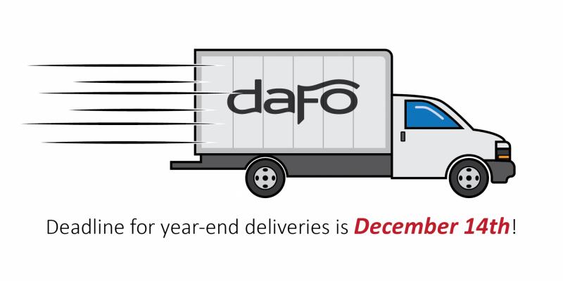 Year-end ordering deadline