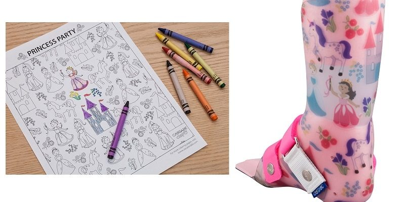 New Princess Party transfer design – and Coloring Pages!