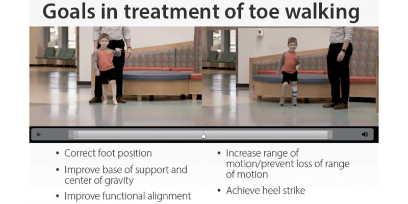 New Online Course – Toe Walking Intensive